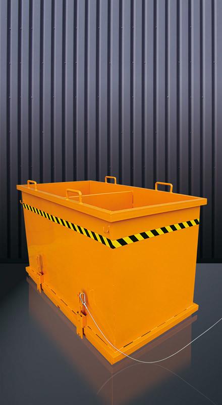 Abfall-Klappbodenbehälter zum Sortieren Typ 2036