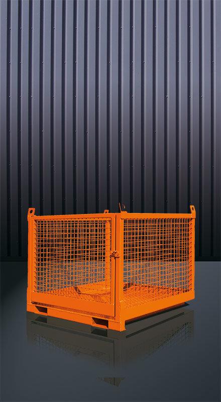 Transportbox für Stapler und Kran 1058