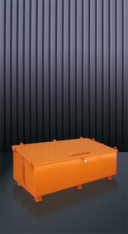 Werkzeugkiste aus Metall 1210