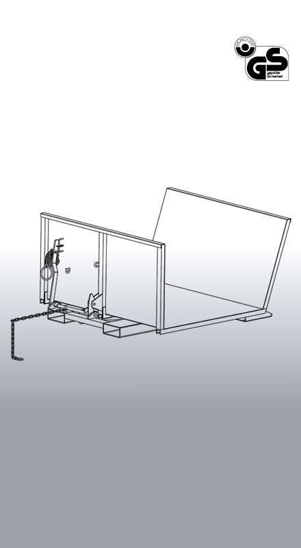 Langholz- Sammelplattform 2096 Zeichnung