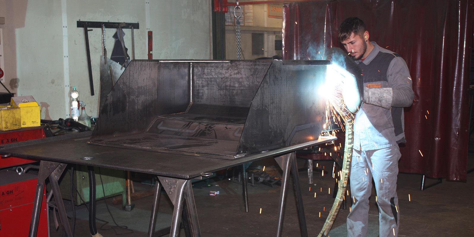 Stahlpreisentwicklung in der Betriebseinrichtung und Staplerzubehör