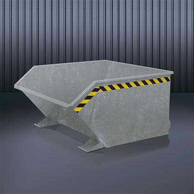 Beistell-Kippbehälter 2012 verzinkt