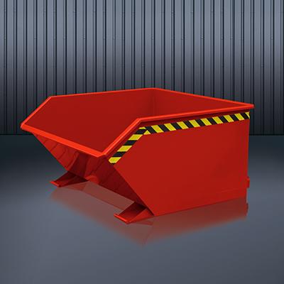 Beistell-Kippbehälter 2012 RAL 3000