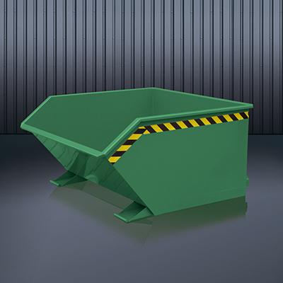 Beistell-Kippbehälter 2012 RAL 6011