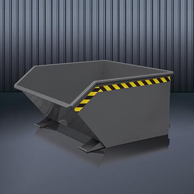 Beistell-Kippbehälter 2012 RAL 7016