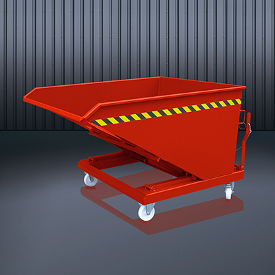 Schüttgut-Kippbehälter 2014 RAL 3000