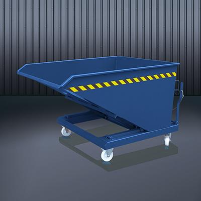 Schüttgut-Kippbehälter 2014 RAL 5010