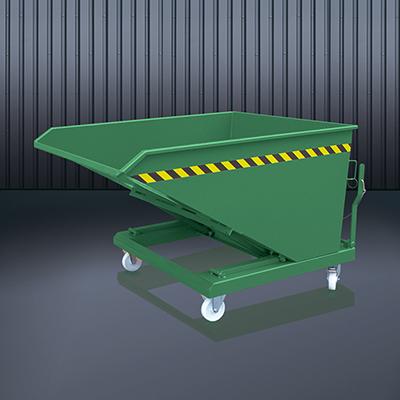 Schüttgut-Kippbehälter 2014 RAL 6011