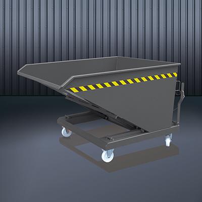 Schüttgut-Kippbehälter 2014 RAL 7016