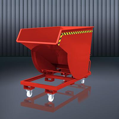 Schwerlast-Kippbehälter 2015 RAL 3000