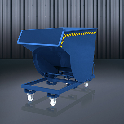 Schwerlast-Kippbehälter 2015 RAL 5010