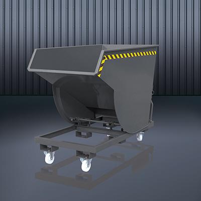 Schwerlast-Kippbehälter 2015 RAL7016