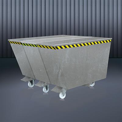 Kippbehälter Sortiersystem 2025 verzinkt