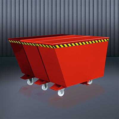 Kippbehälter Sortiersystem 2025 RAL 3000