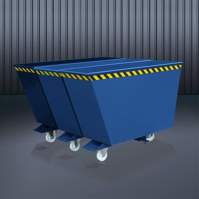 Kippbehälter Sortiersystem 2025 RAL 5010
