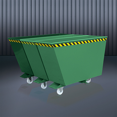 Kippbehälter Sortiersystem 2025 RAL 6011