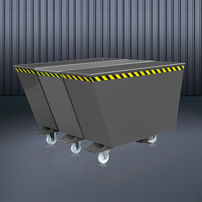 Kippbehälter Sortiersystem 2025 RAL 7016