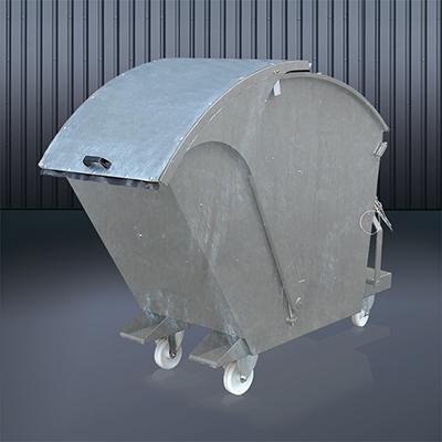 Abfallcontainer 2026 verzinkt