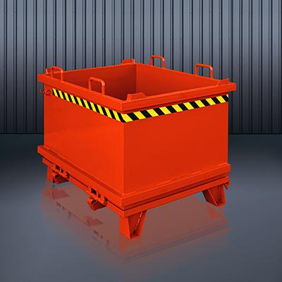 Klappbodenbehälter 2032 RAL 3000
