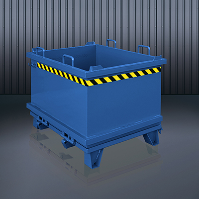 Klappbodenbehälter 2032 RAL 5010