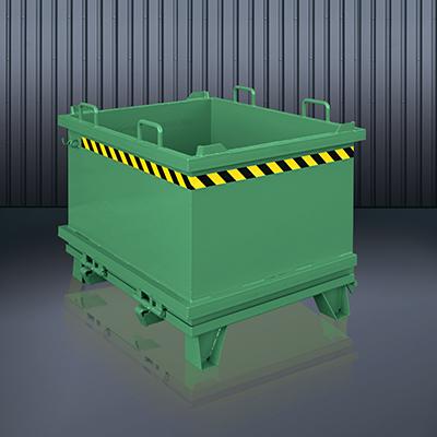 Klappbodenbehälter 2032 RAL 6011