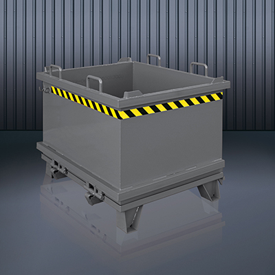 Klappbodenbehälter 2032 RAL 7016