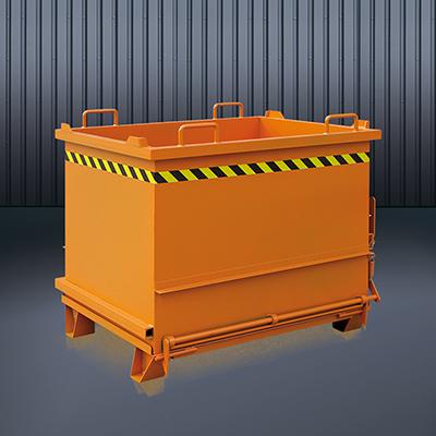 Baustoff-Container mit Klappboden 2035 RAL 2004
