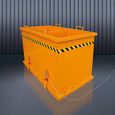 Abfall-Klappboden-Behälter 2036 RAL 2004