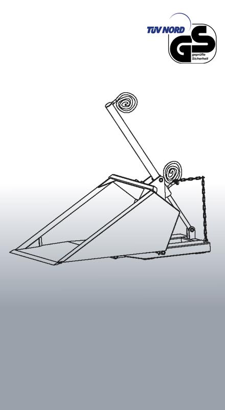 Stapler-Schaufel 2061 Zeichnung