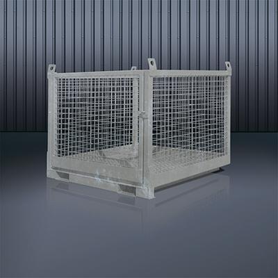 Transportbox für Stapler und Kran 1058 feuerverzinkt