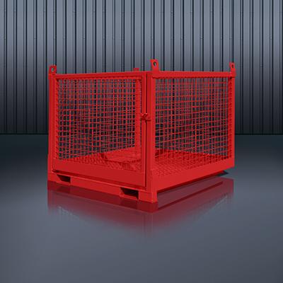 Transportbox für Stapler und Kran 1058 RAL 3000