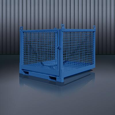 Transportbox für Stapler und Kran 1058 RAL 5010