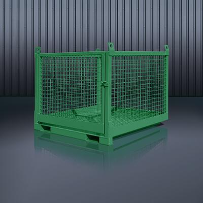 Transportbox für Stapler und Kran 1058 RAL 6011