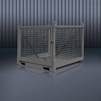 Transportbox für Stapler und Kran 1058 RAL 7016