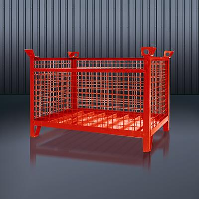 Gitterbox-Stapelpalette 1315 RAL 3000