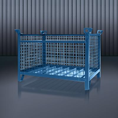 Gitterbox-Stapelpalette 1315 RAL 5010