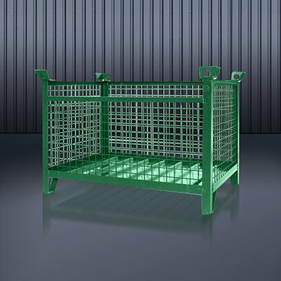 Gitterbox-Stapelpalette 1315 RAL 6011