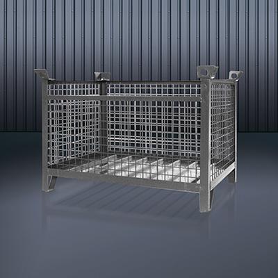 Gitterbox-Stapelpalette 1315 RAL 7016