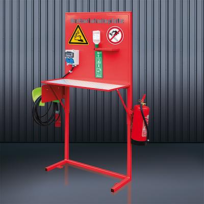 Batterie-Ladeplatz 2116 RAL 3000