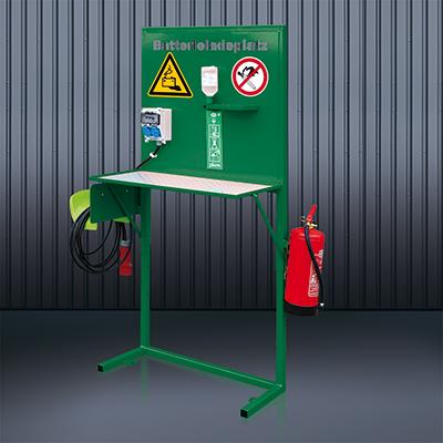 Batterie-Ladeplatz 2116 RAL 6011