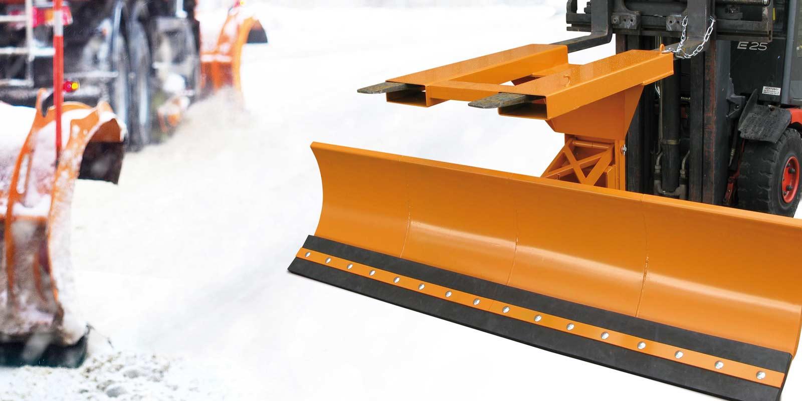 Schneeräumgeräte für den Stapler